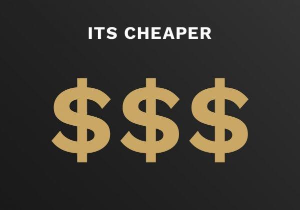 web marketing saves you money